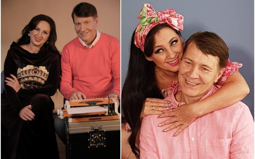 Liveta ir Petras Kazlauskai /Foto: Aleksandras Brokas, asmeninis albumas