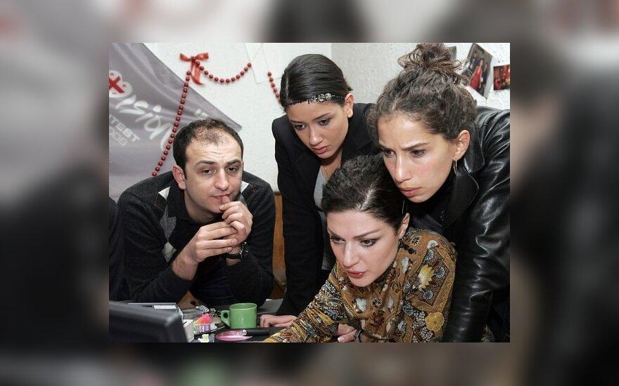 """Gruzija traukiasi iš """"Eurovizijos"""" uždraudus jų dainą"""