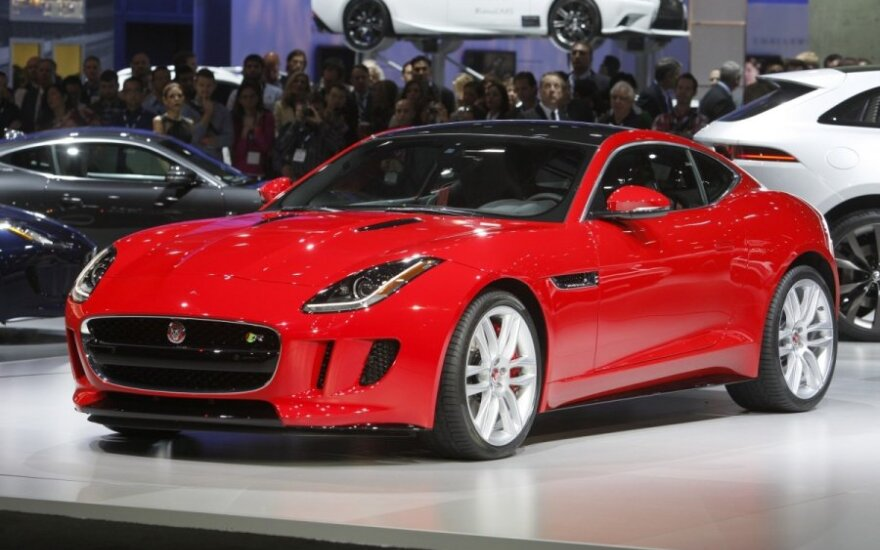 Jaguar F-Type kupė