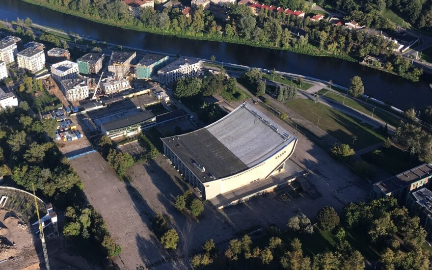 Sports palace in Vilnius