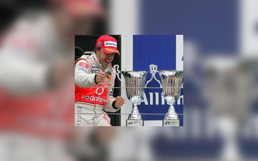 Fernando Alonso - Europos GP nugalėtojas