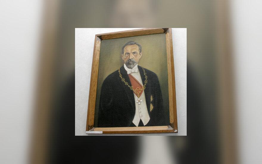 A.Smetonos portretas