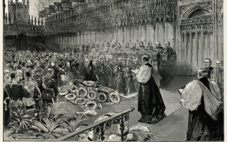 Princo Alberto Viktoro laidotuvės