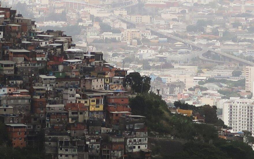 Po dvejų metų recesijos Brazilijos ekonomika pernai augo