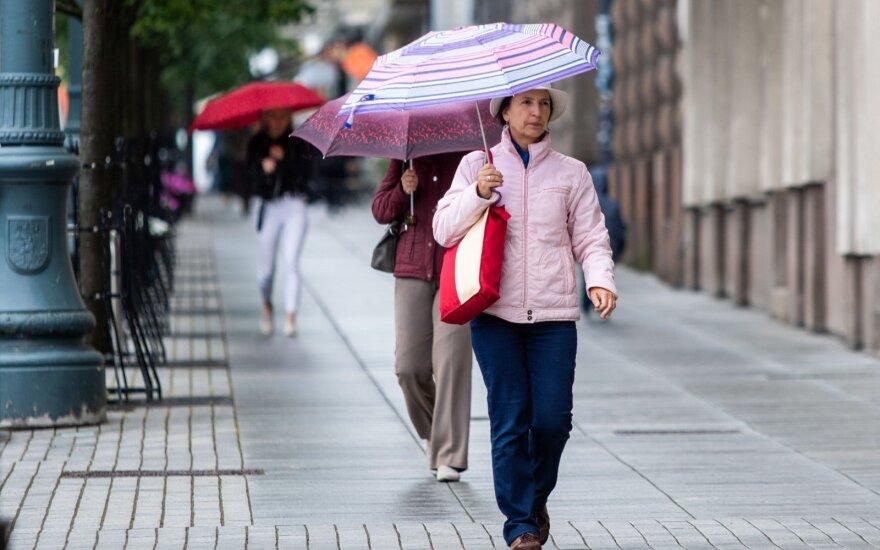 Sinoptikas papasakojo, kokių orų tikėtis spalio pradžioje