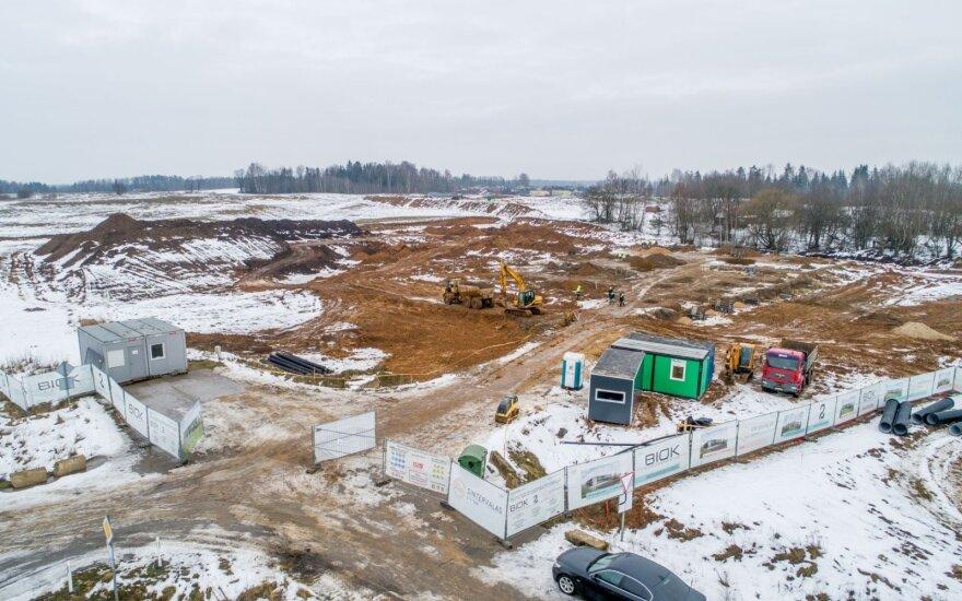 Netoli Vilniaus prasideda naujos gamyklos statybos