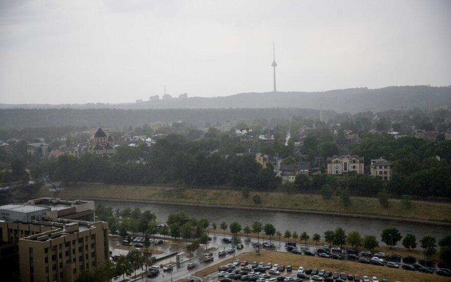 Įspėja: Lietuvos link nuo Baltarusijos atslenka dūmai