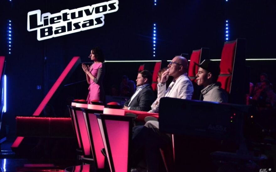 """""""Lietuvos balso"""" pirmųjų dvikovų akimirkos"""