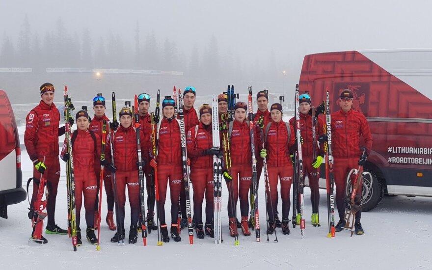 Lietuvos biatlono rinktinė / Foto: Ruslanas Nikitinas