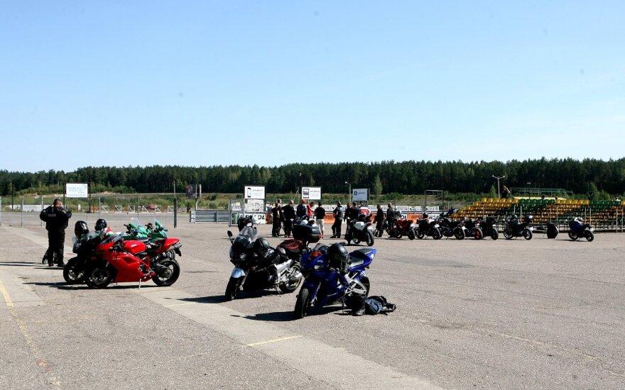 Motociklai Kačerginės Nemuno žiede
