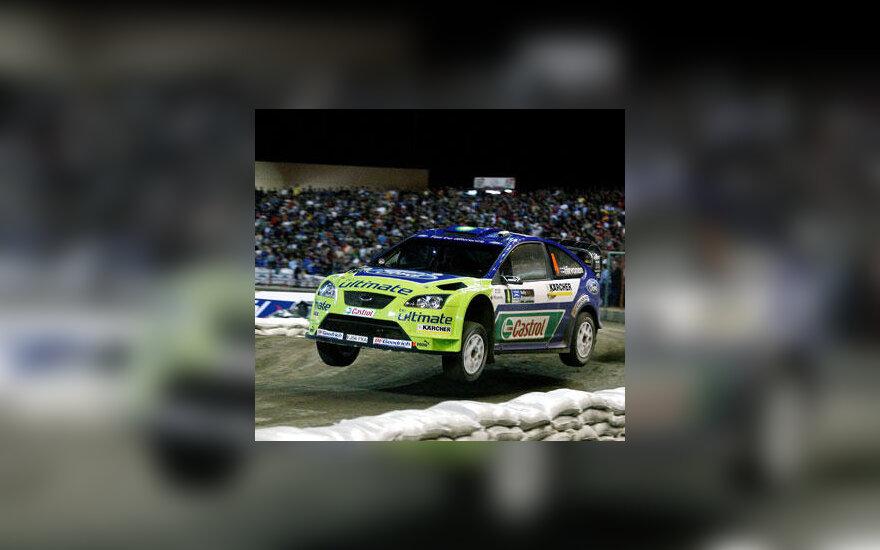 """Mikko Hirvonenas (""""Ford"""")"""