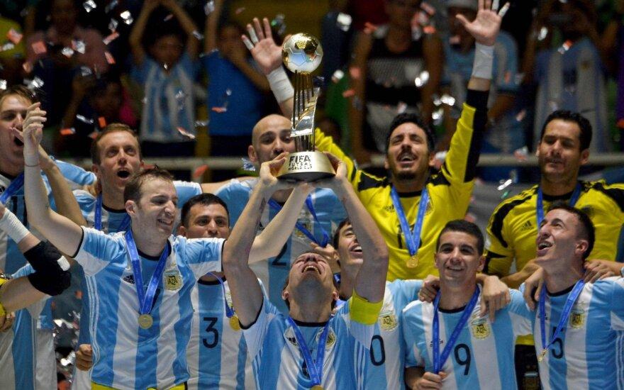 Paskutiniame pasaulio čempionate triumfavo Argentina