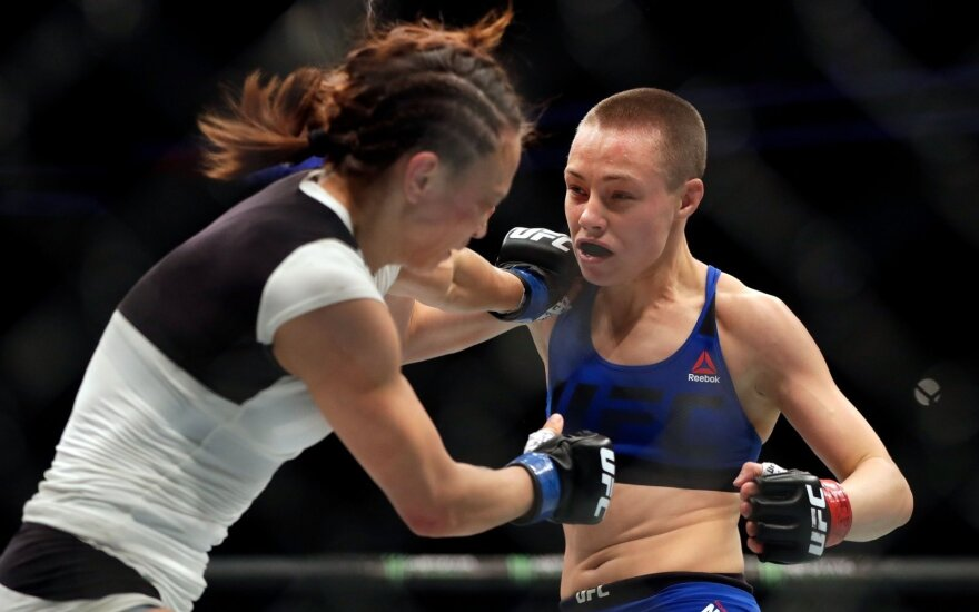 MMA dvikova: Rose Namajunas – Michelle Waterson
