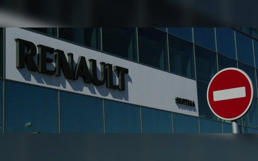 """Anonimas už melagingą žinią iš """"Renault"""" išviliojo ketvirtį milijono eurų"""