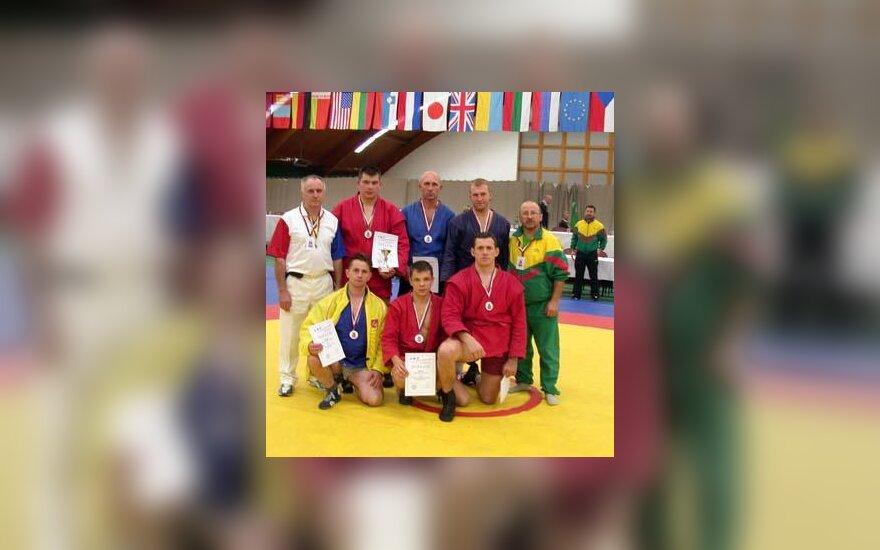 Lietuvos policijos sambo komanda - pasaulio čempionė