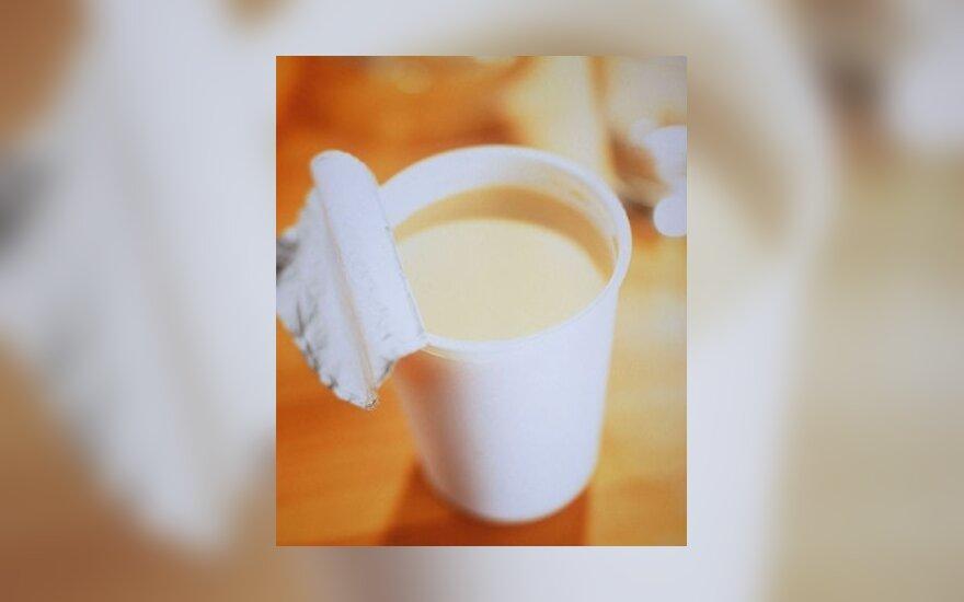 """""""Danone"""" atsiėmė informaciją apie jogurtų poveikį sveikatai"""