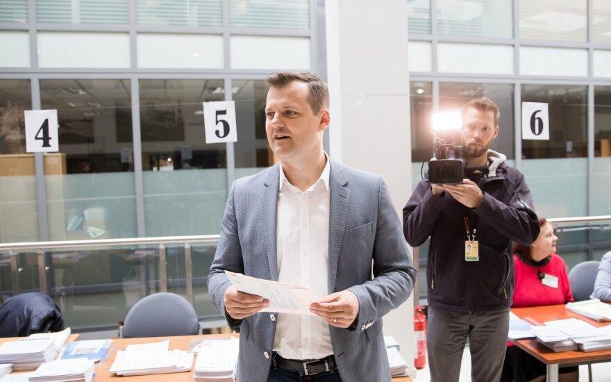 Rinkimuose balsą atidavęs Paluckas: po rinkimų audros nurims