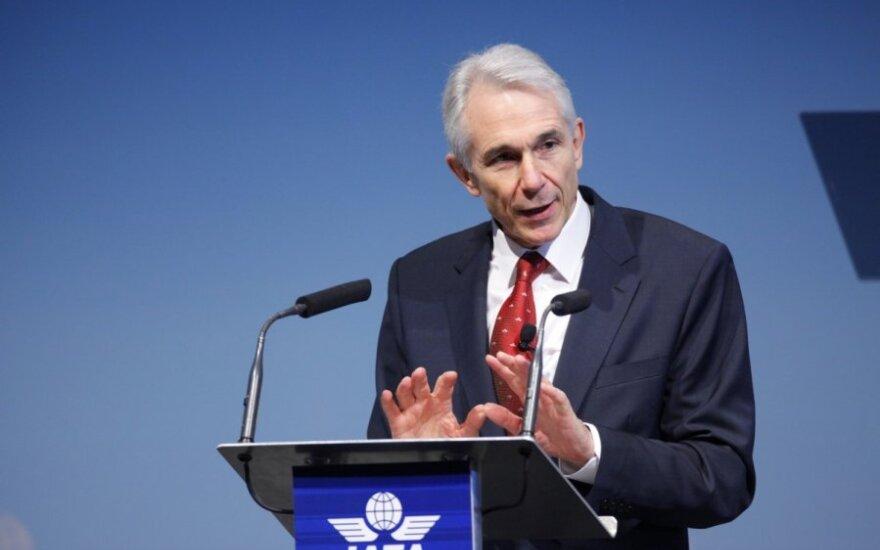 Tarptautinės oro transporto asociacijos (IATA) generalinis direktorius Tony Tyler