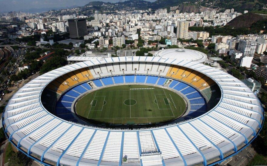 """Rio de Ženeiro """"Maracana"""" stadionas"""