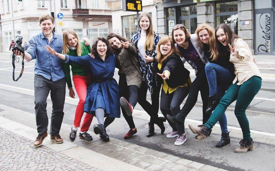 Vokietijos lietuvių jaunimas susitinka Diuseldorfe su žymiomis asmenybėmis