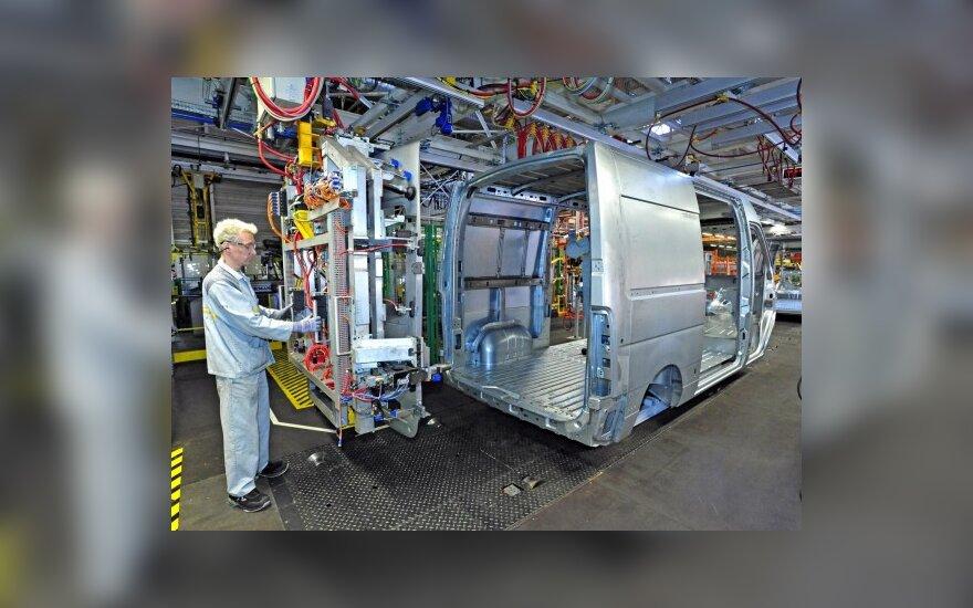 Renault Master gamyba Prancuzijoje