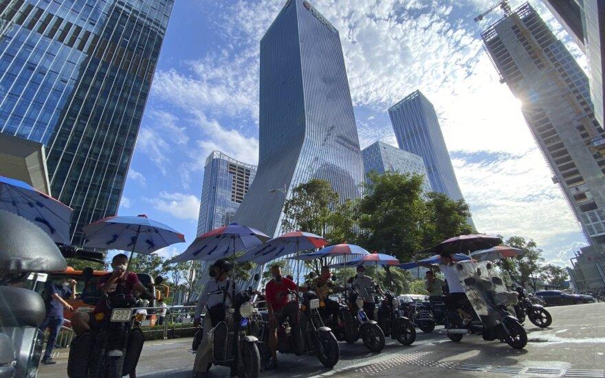 """""""Evergrande"""" pastatai Kinijoje"""