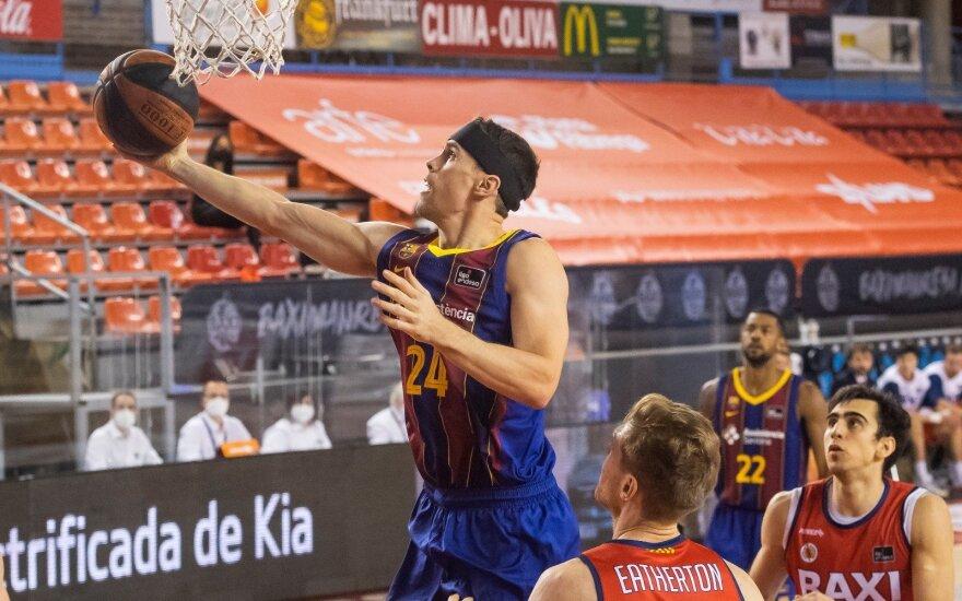 """Kyle'as Kuričius / FOTO: """"Baca Basket Twitter"""""""