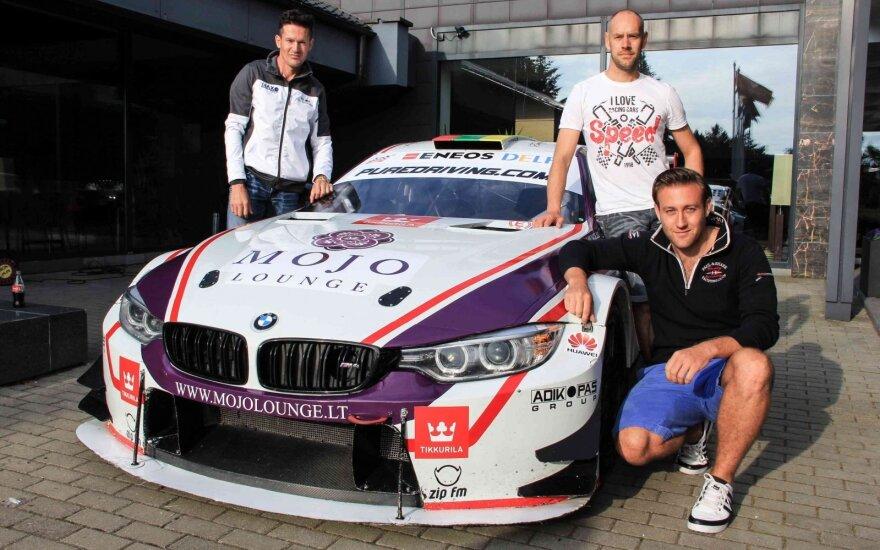 Mojo Lounge racing by JR Motorsport komandos pasiruošimas 1000 km lenktynėms