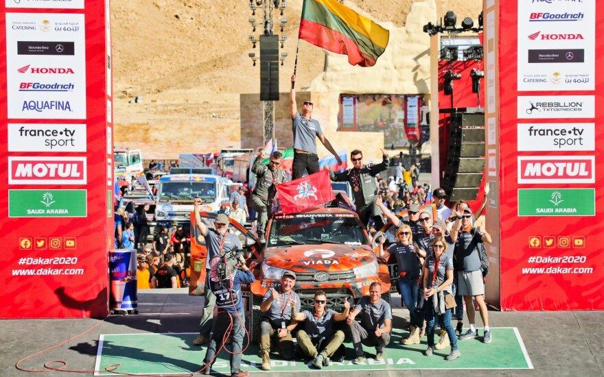 2020 metų Dakaras: lietuviai įrodė, kad sunkiausias pasaulyje ralis tapo antrąja religija
