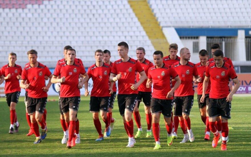 Lietuvos futbolo rinktinė Maltoje