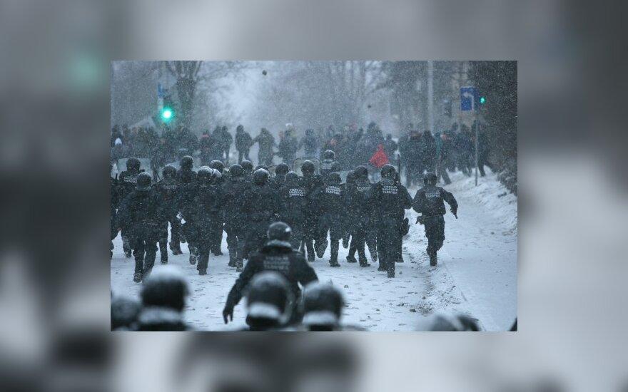 Neramumai, riaušės Vilniuje