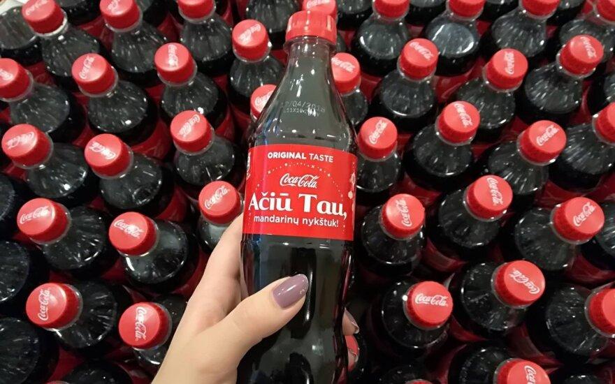 """""""Coca-Cola"""" pradeda kalėdinę kampaniją: neužmiršk pasakyti """"ačiū"""""""
