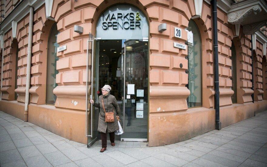 """""""Marks and Spencer"""" paskelbė parduotuvės Vilniuje uždarymo datą"""