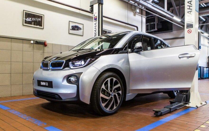 BMW elektromobilių servisas Vilniuje