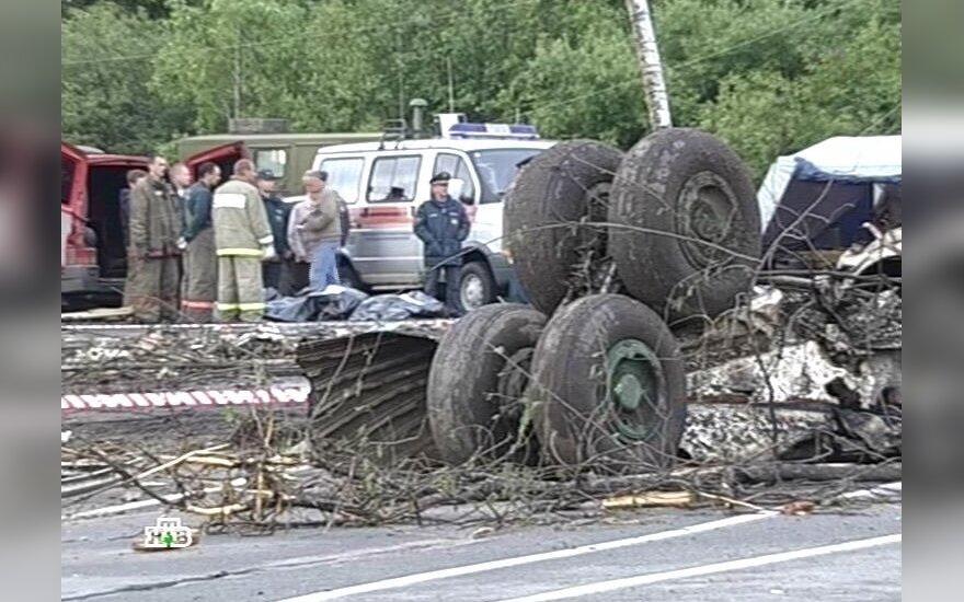 Rusijoje sudužo lėktuvas