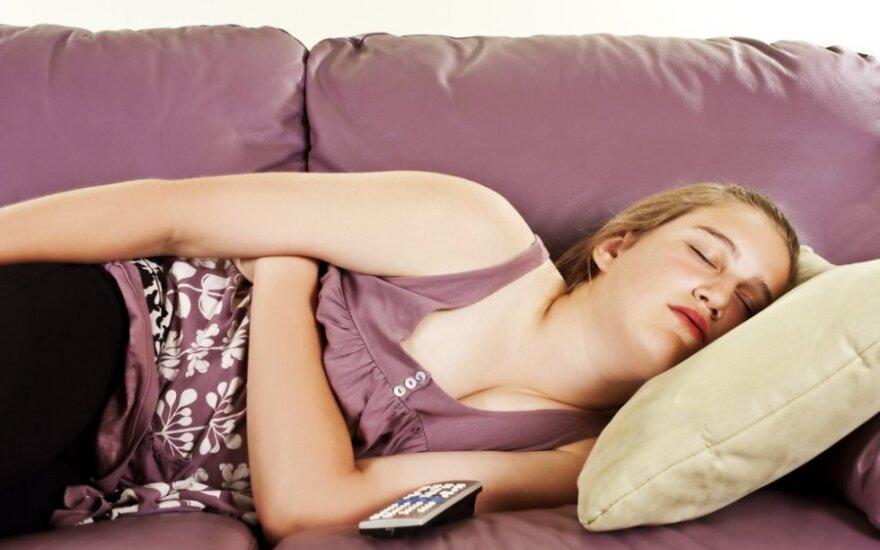 Mokiniai atostogas skyrė miegui ir kinui