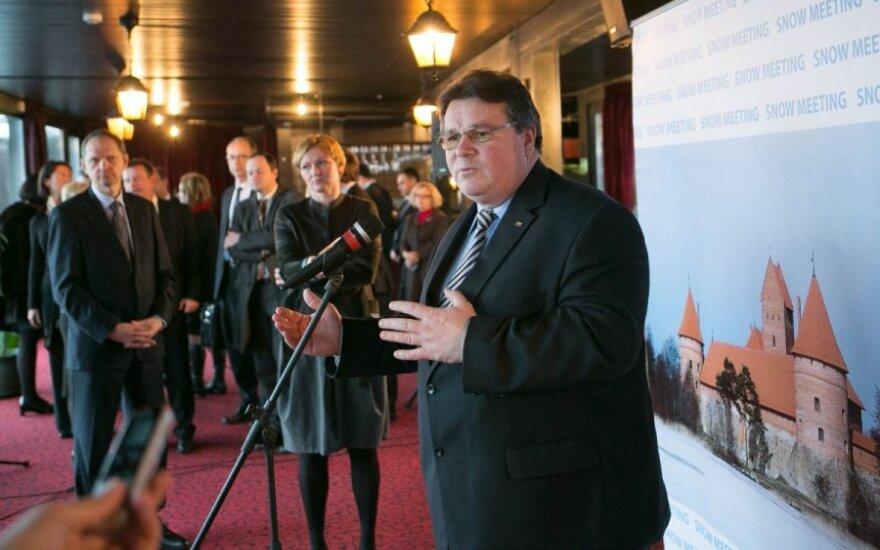 L. Linkevičius: svarbu, kad verslas ir valstybė situaciją vertina vienodai