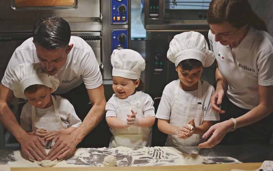 Virginijos ir Fabio Canino šeimai Rietave įkūrė restoraną
