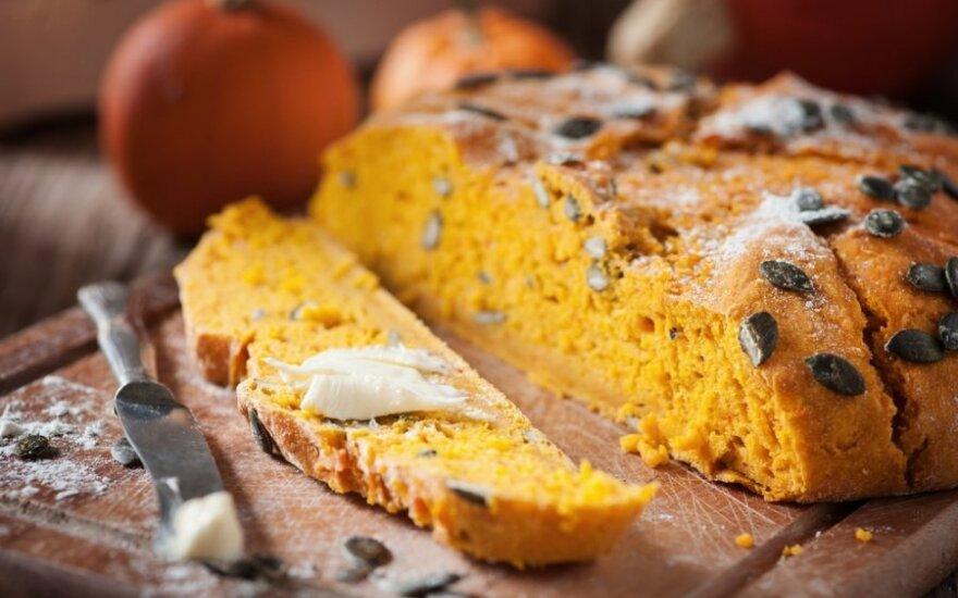 Kvapni moliūgų duonelė