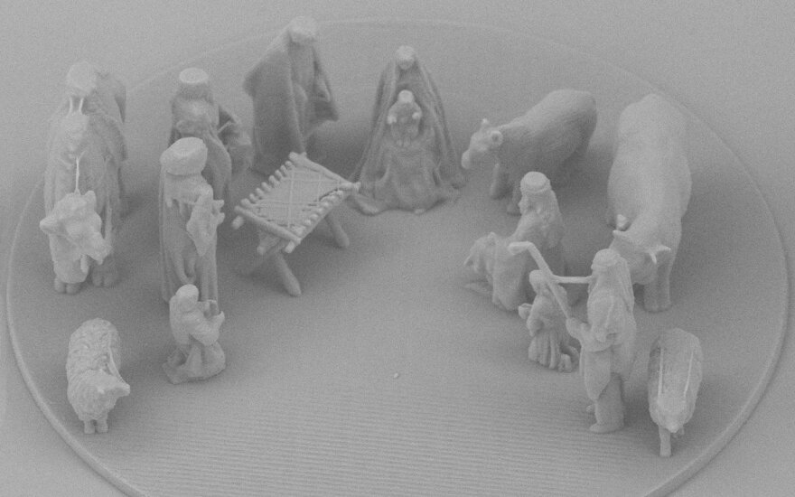 nano scale nativity scene