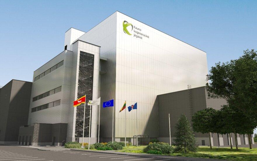 Kauno kogeneracinė jėgainė / Lietuvos energija