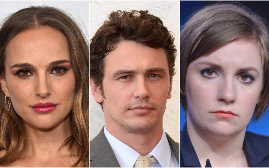 Natalie Portman, James Franco, Lena Dunham