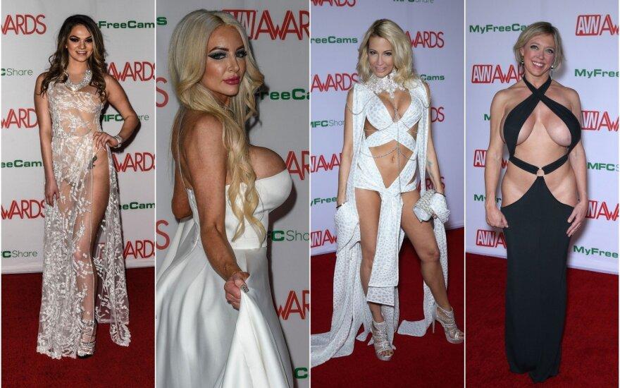 Filmų suaugusiems apdovanojimų AVN Awards raudonasis kilimas
