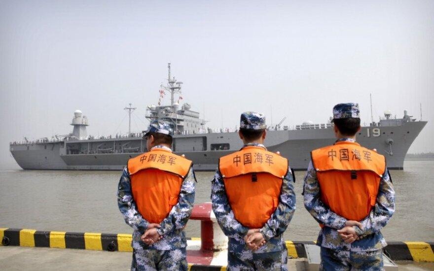 ES kritikuoja Pekino veiksmus Pietų Kinijos jūroje