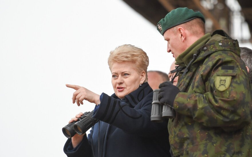Grybauskaitė calls for war on terrorism in wake of Brussels attacks