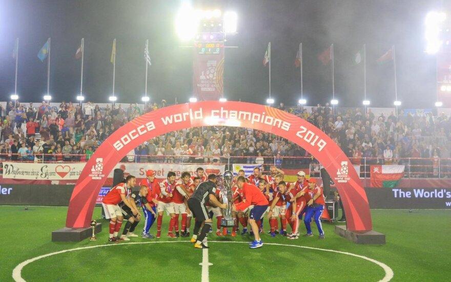 Rusija – naujoji mažojo futbolo pasaulio čempionė / FOTO: LMFA