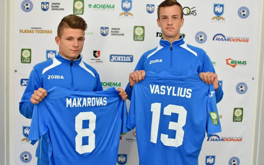 Edgaras Makarovas ir Gytis Vasylius (fklietava.lt nuotr.)
