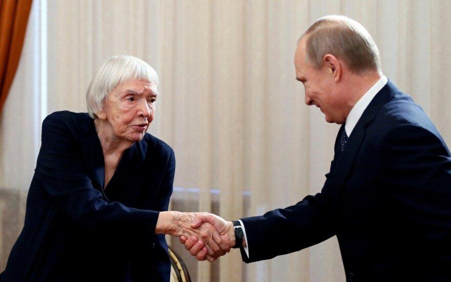 Vladimiras Putinas, Liudmila Aleksejeva