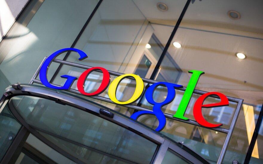 """ES meta """"Google"""" naujus kaltinimus dėl konkurencijos įstatymų pažeidimo"""
