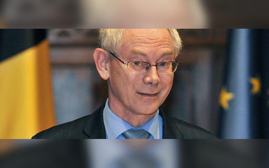 H.Van Rompuy: absurdiška euro zoną lyginti su Ukraina ar Argentina